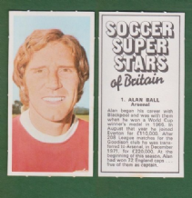 Arsenal Alan Ball England 1